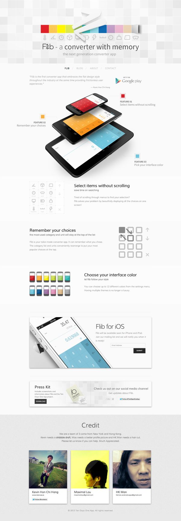 Flib - A converter with memory by Kevin Hon Chi Hang, via Behance