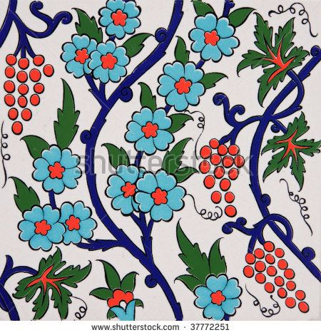 Stock Images similar to ID 42380398 - turkish artistic wall tile