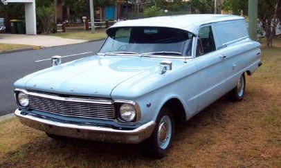 1966 Aussie Falcon XP Panel Van