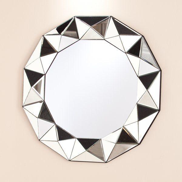 Shauna Round Oversized Wall Mirror