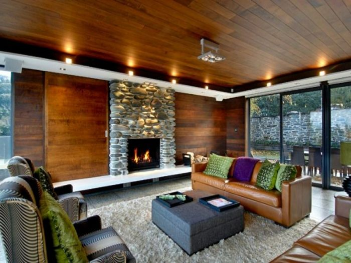 Teppich Wohnzimmer Natur Eine Rustikale Note Dem