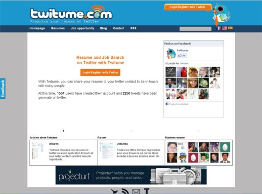 35+ Well-Made Twitter Lifestream Online Tools