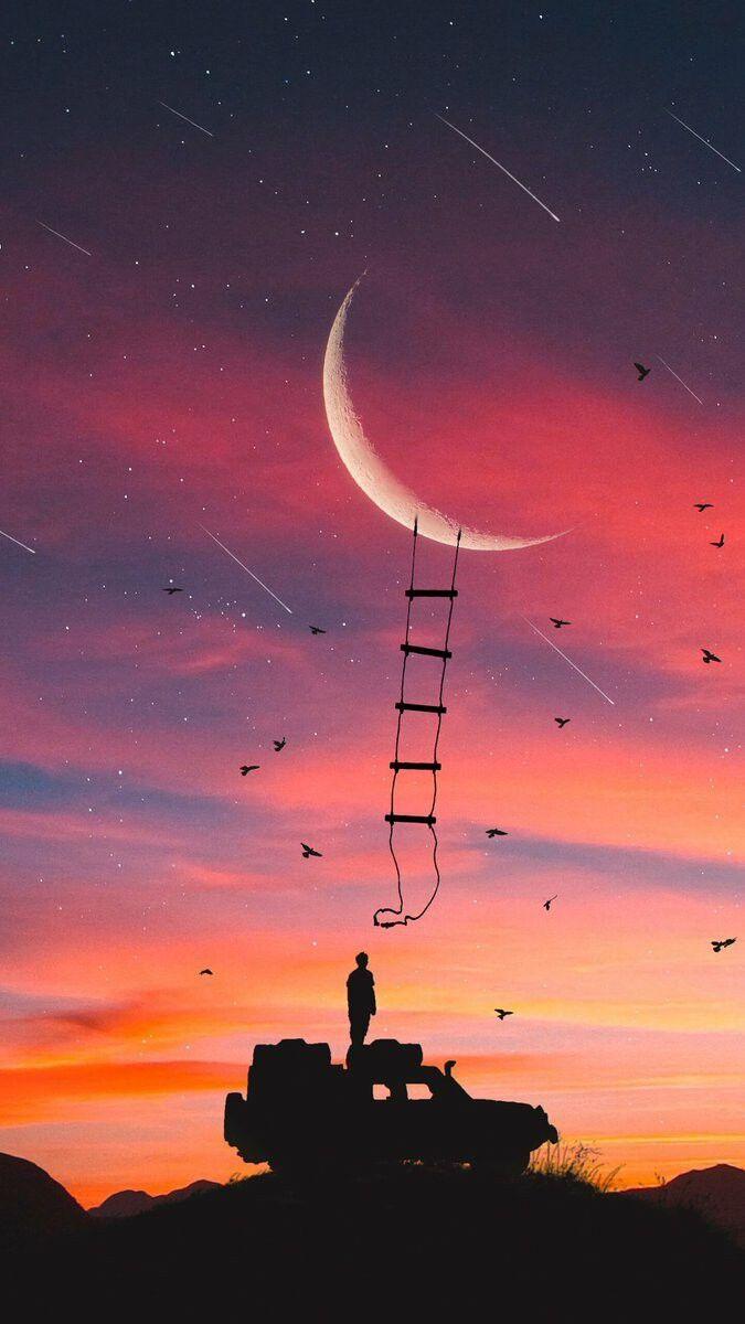 Schau dir dein Leben auf dem Mond an, ganz anders.  Hayatına Ayın üstünden bak, çok farklı.   Schau dir dein Leben auf dem Mond an, ganz anders….