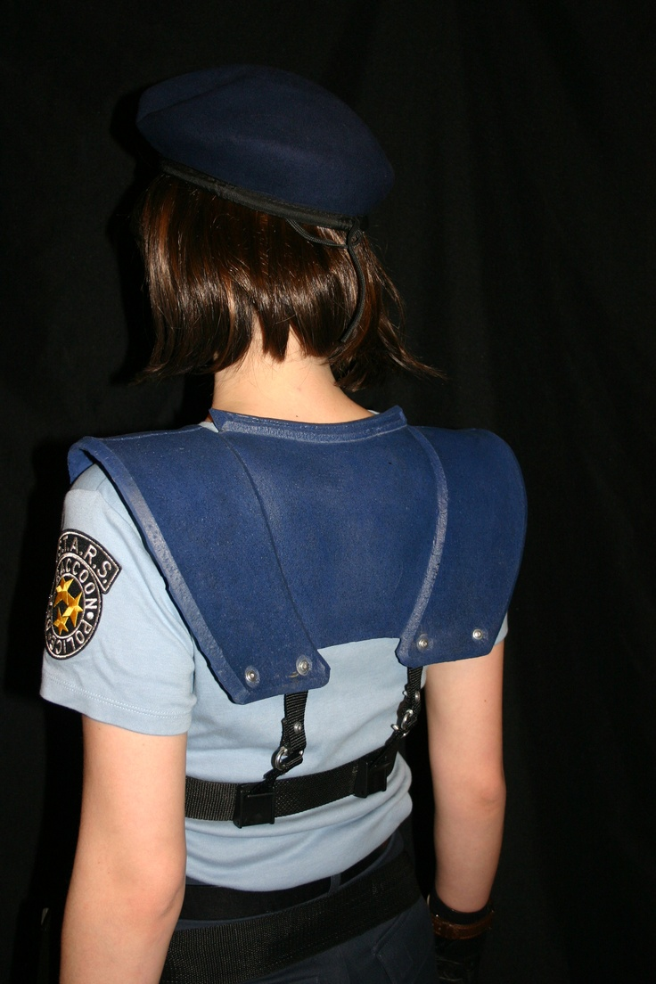 Jill Valentine Shoulder Harness Back