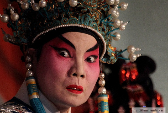 I shot at the Chinese Opera hungry ghost festival