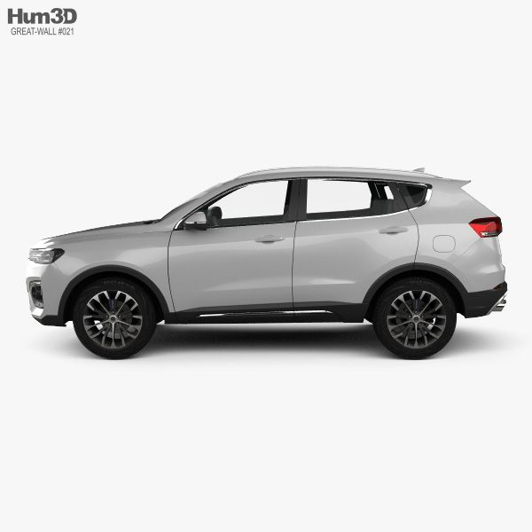 3d Model Of Great Wall Haval H6 2019 With Images 3d Model