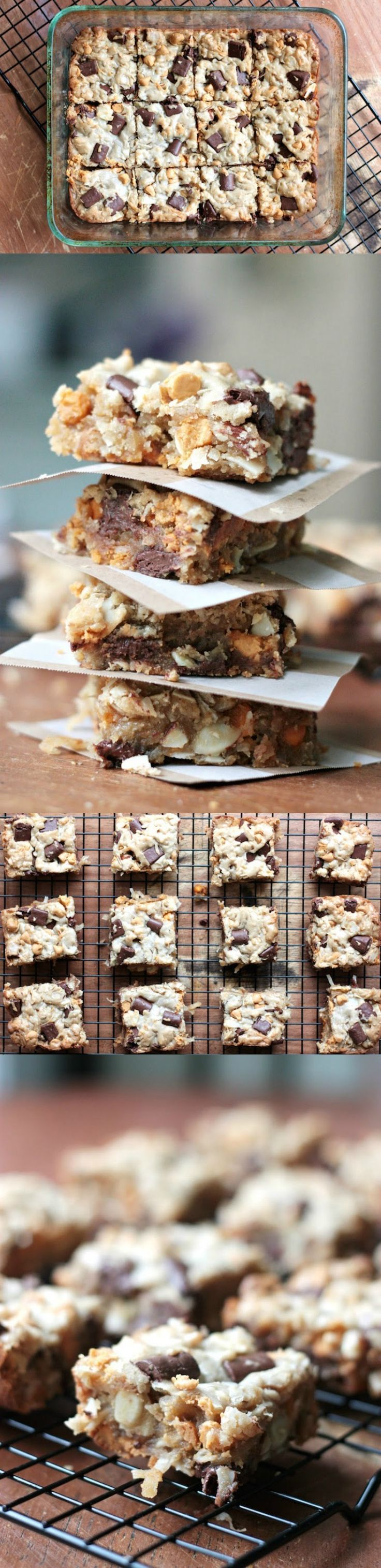 If you need brownies but are out of cocoa, take the edge off with this delicious and easy blondie recipe. Full of chocolate chips and peanut butter chips. Get your sweets fix with this amazing classic treat!