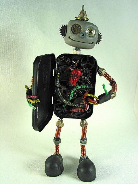 Altoid box robot