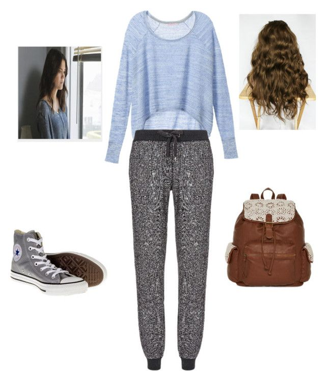 """Callie The Fosters"" by ttmarie26 ❤ liked on Polyvore featuring Victoria's Secret, Sweaty Betty, Converse, T-shirt & Jeans, women's clothing, women, female, woman, misses and juniors"