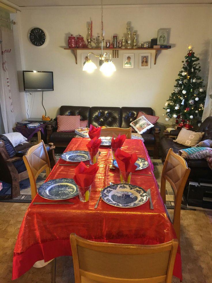 Julen 2016 familiemiddag,barnebortføring på kjøkkenet