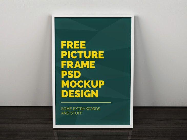 Free Artwork Frame Poster Mockup