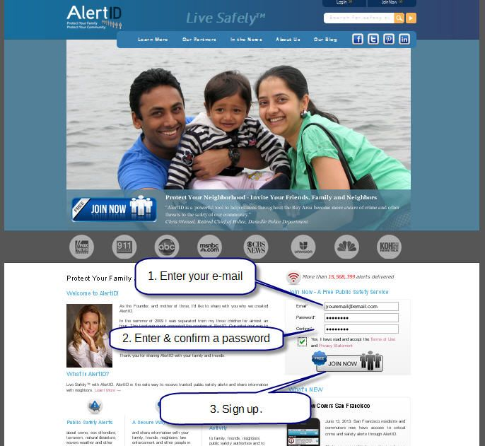 AlertID - the free safety app for USA families Internet Site, Safety Info, Free Safety,  Website, Web Site, Safety App