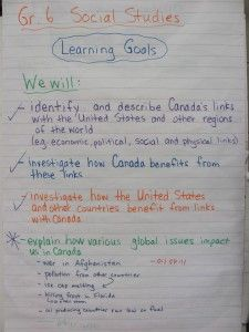 Canada's Links to the World( Gr. 6 Social Studies) as seen on Sixth Grade Staff    www.sixthgradestaff.com