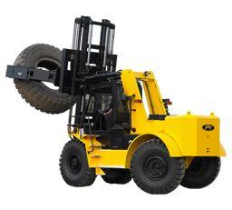 Tyre Handler Forklifts