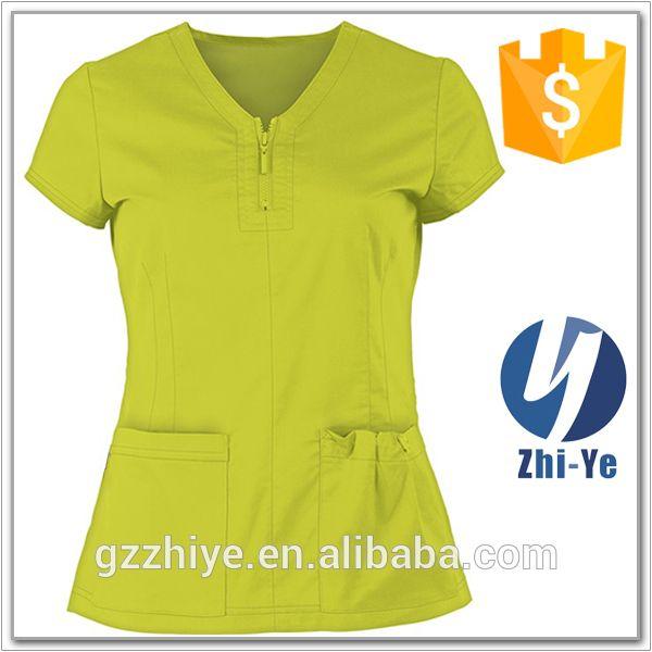 Proveedor de China uniformes de moda al por mayor de la enfermera, uniformes Ver enfermera, del ODM del OEM Detalles del producto de Guangzhou Zhiye Garment Fabricante en Alibaba.com