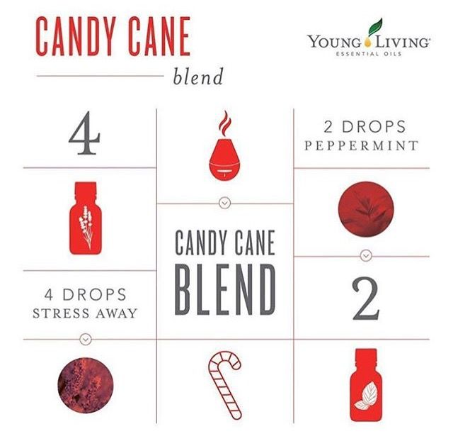 Candy Cane essential oil diffuser blend from Young Living