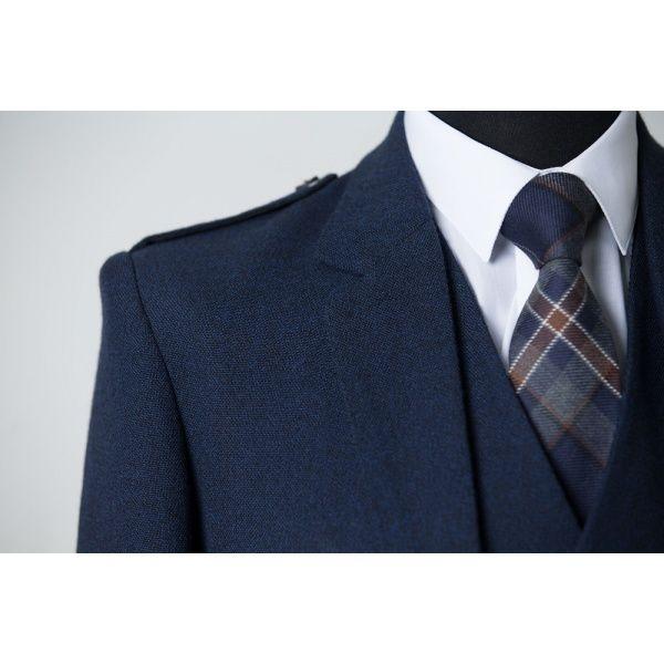 Arran Navy Tweed Kilt Hire | MacGregor & MacDuff