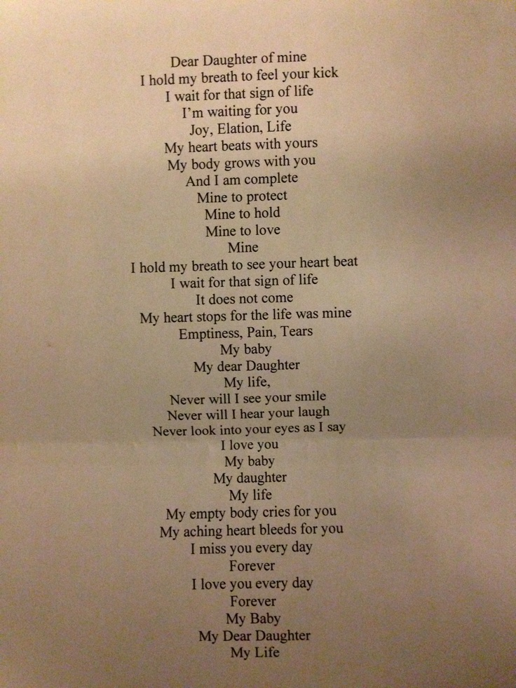 Poem Pregnancy Loss Stillborn Quotes Pinterest