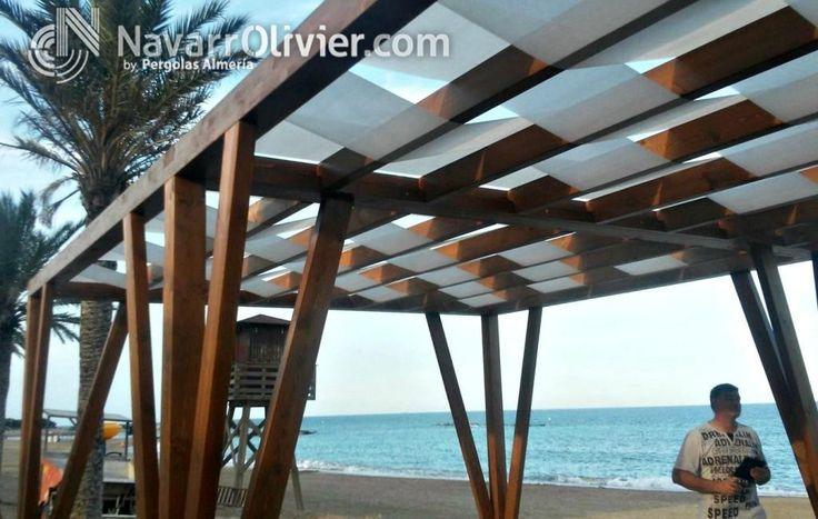 Las 25 mejores ideas sobre vigas de madera laminada en pinterest madera laminada vigas - Pergolas de lona ...