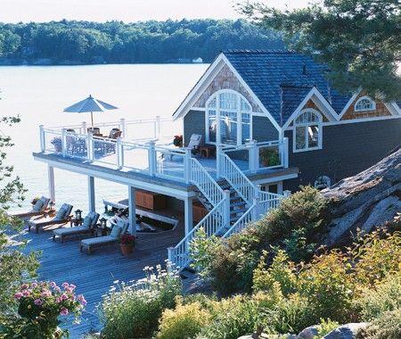 I can dream: Dreams Home, Dreams Houses, Decks, Lakes Home, Cottages, Dreams Lakes Houses, Beaches Houses, The Lakes Houses, Summer Houses