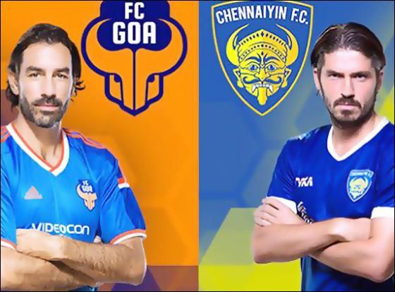 Indian super league: Chennaiyin FC beats FC Goa 2-1 http://www.morningcable.com/home/sports/38084-indian-super-league-chennaiyin-fc-beats-fc-goa-2-1.html  Chennaiyin FC team romp to 2-1 win over FC Goa in the Indian Super League (ISL) which was held at Nehru stadium in Margao on Wednesday.