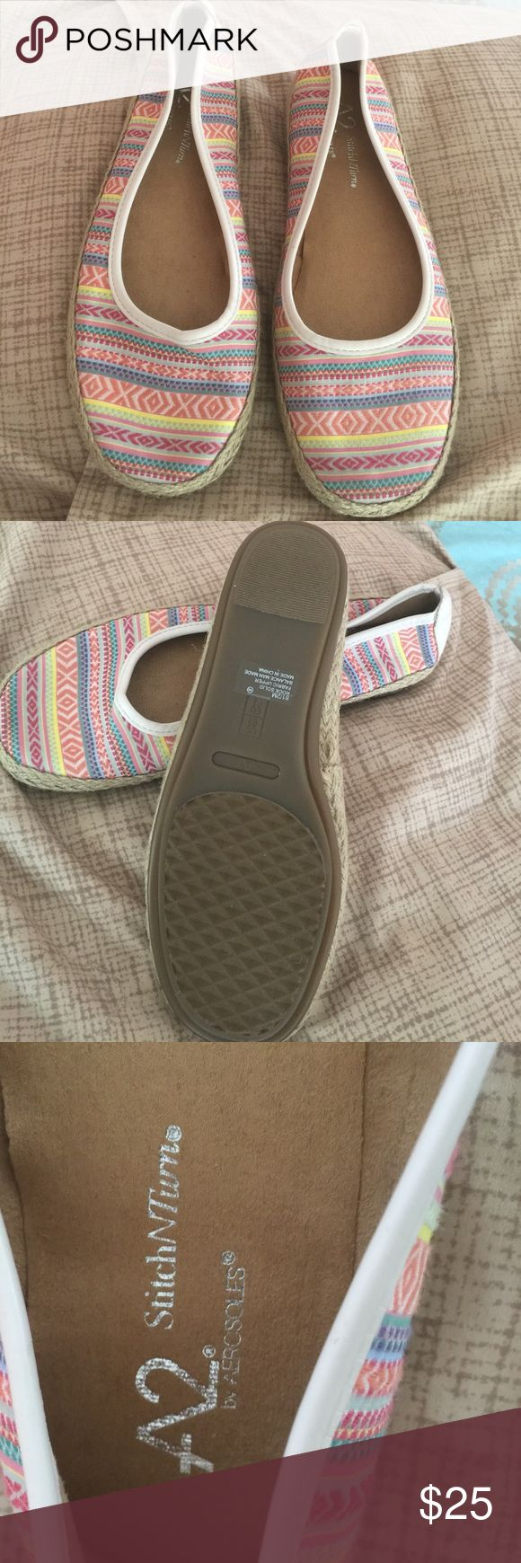 A2 shoes by aerosoles Tribal shoes new never used no tags AEROSOLES Shoes Flats & Loafers