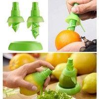 Wish | Lemon Juice Sprayer Citrus Spray Hand Fruit Juicer Mini Squeezer Kitchen Tools