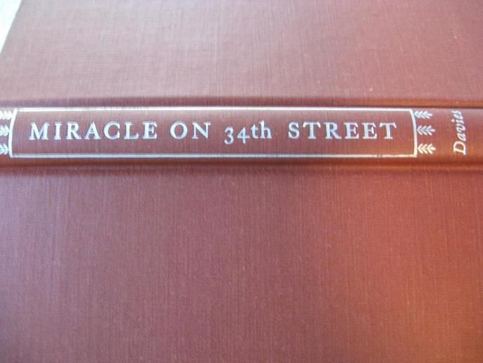 Miracle On 34th Street by Valentine Davies 1947 First Edition Book by ShopWithLynne, $7.00 USD