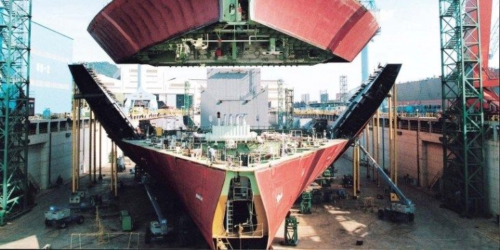 Koreas Three Shipbuilders Makes Top 3 in Terms of Remaining Order Volume