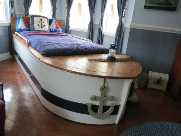 La Jolla Boat Bed Twin Boat Bed With Trundle 399 New