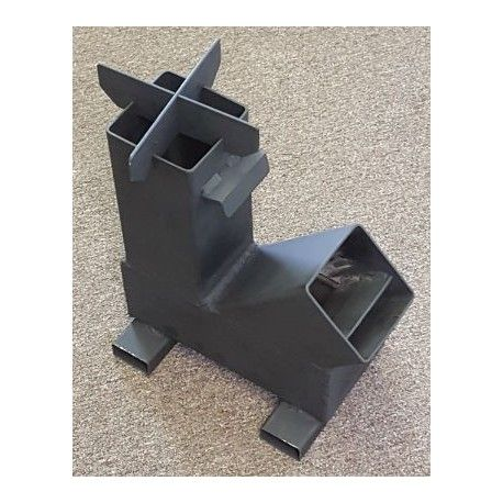 Bullet Proof Gravity Feed Rocket Stove