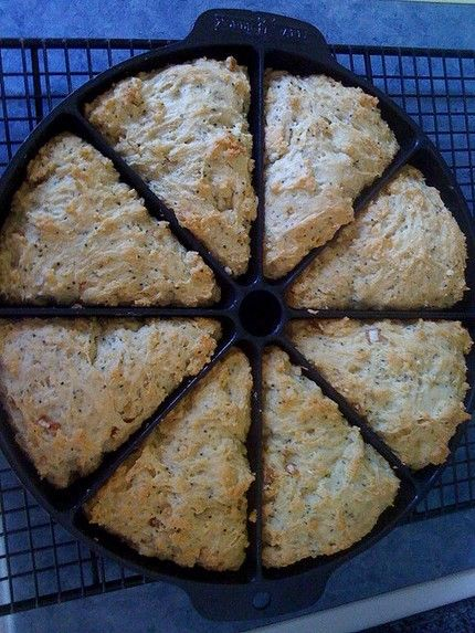 Weight Watchers Oatmeal Scones recipe - 3 points | Weight Watchers Recipes