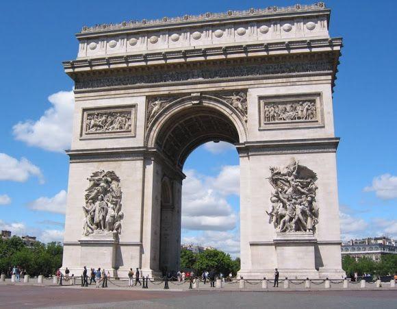 The Arc de Triomphe - Google Search