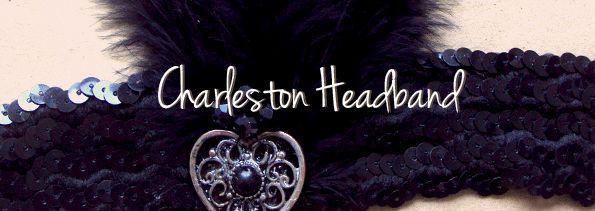 Day 4: DIY Halloween- Charleston Headband / Cinta para el cabello Disfraz Charleston