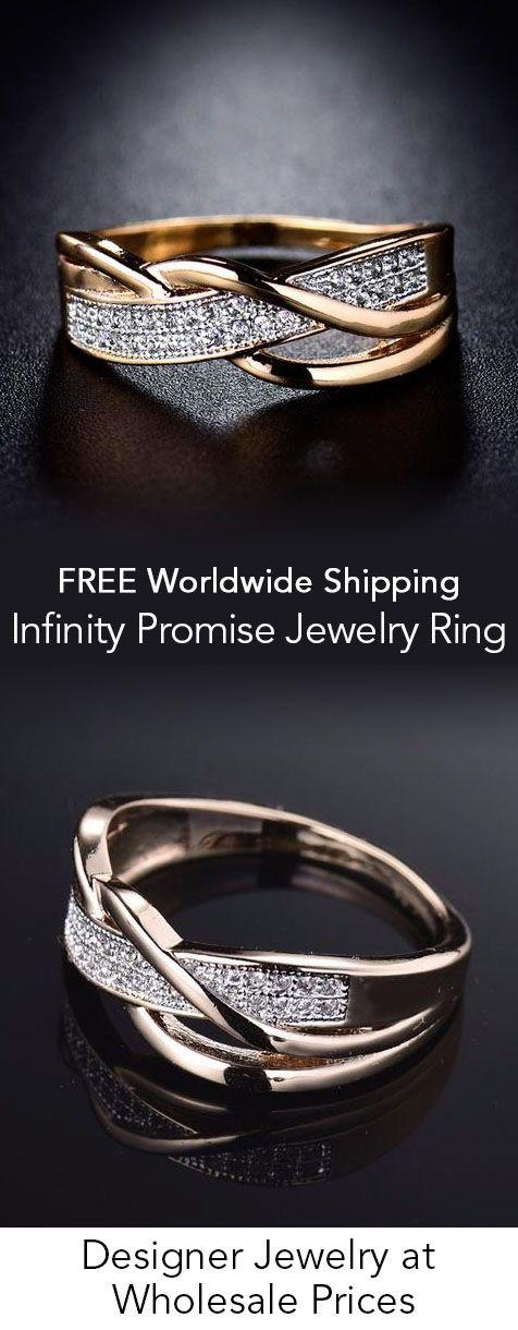 Infinity Promise Jewelry Ring
