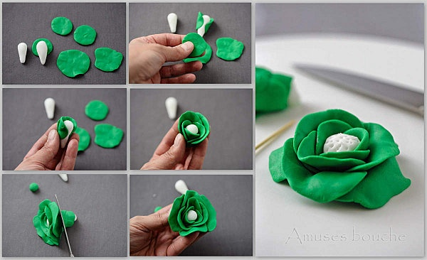 pate fimo - could easily be done with sugerpaste