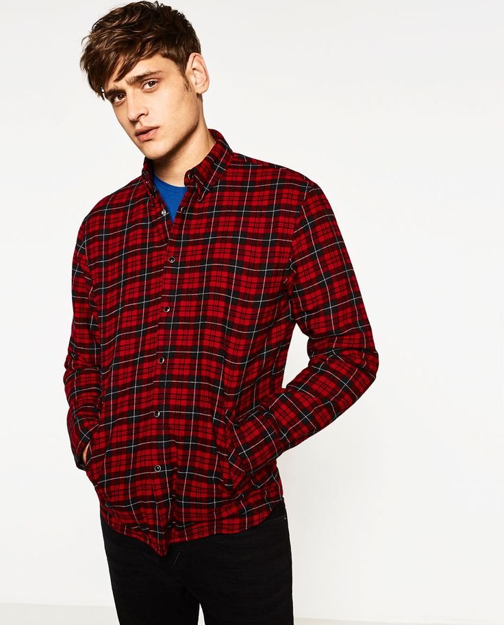 ZARA - MAN - CHECKED OVERSHIRT