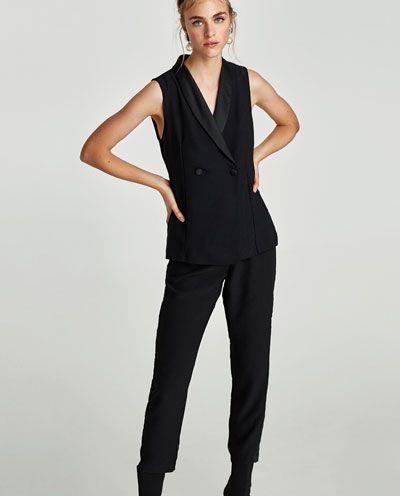 Image 2 of BLAZER-STYLE JUMPSUIT from Zara