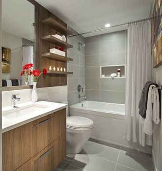 Bathroom idea, The Austin by Beedie Living Boys bathroom?