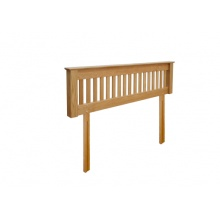 Canterbury Solid Oak MNH60 5FT (King Size) Headboard