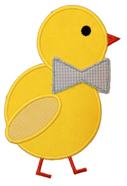 chick-Wouldn't this be cute on a onesis or t-shirt with a ruffled skirt or for a little boy with little shorts!