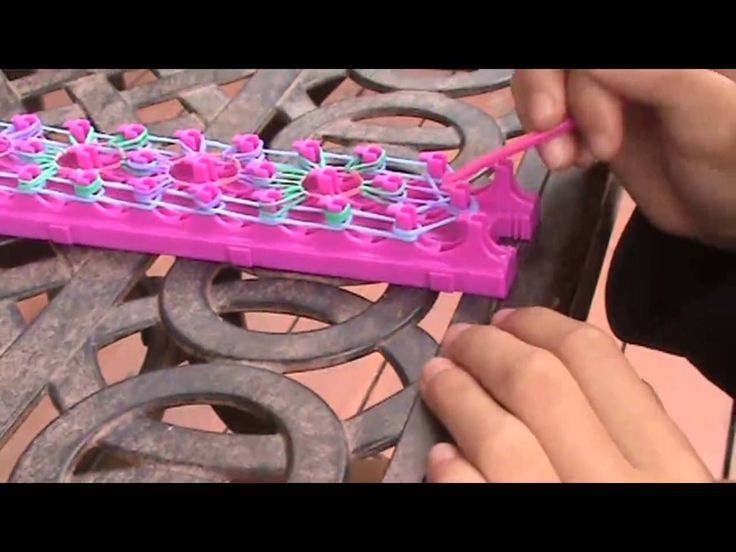 How to make the starburst bracelet with crazy loom!