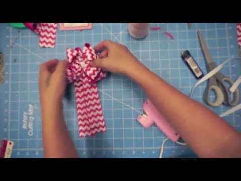 Tails Down Cheerleading Hair Bow Tutorial with Artemis in Love - YouTube