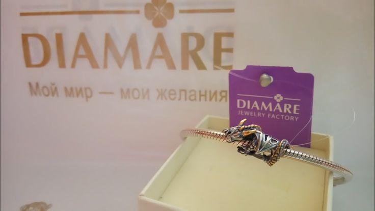 """Рубрика """"Мой первый браслет Diamare"""", чудесная фотография от нашей покупательницы Саши Спилберг.💎"""