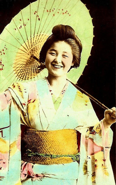 EMIKO - THE SMILING GEISHA --  Japanese Salt Print (#13) by Okinawa Soba, via Flickr