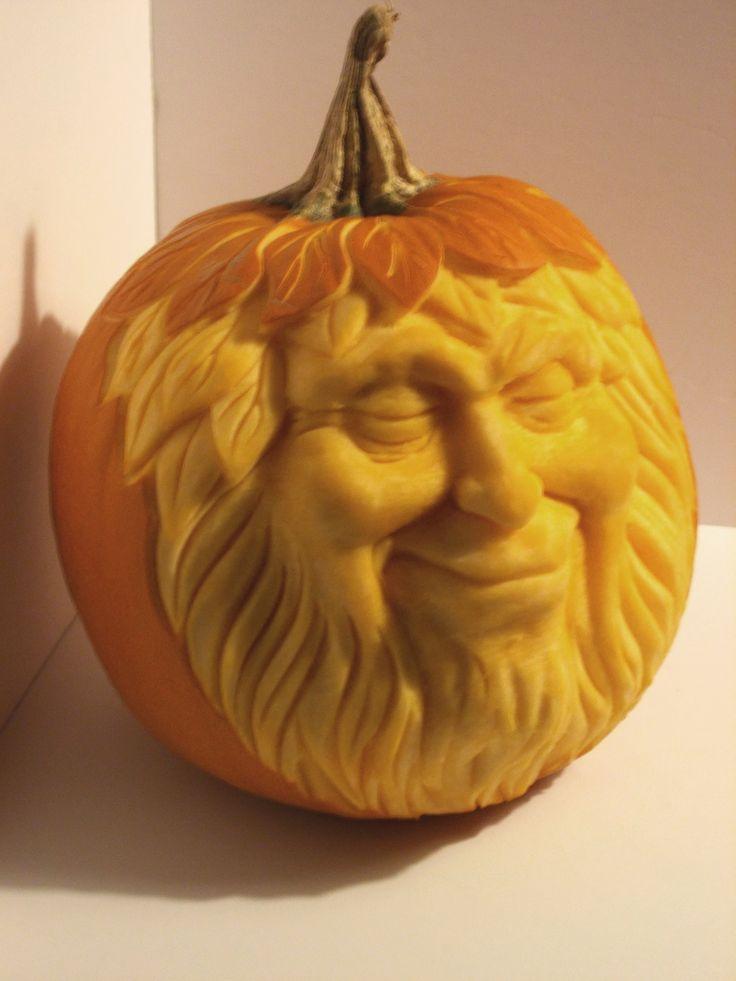 realistic pumpkin drawing. the pumpkin king.by greg hand realistic drawing
