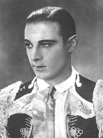 Rudolph Valentino -A Sainted Sheik