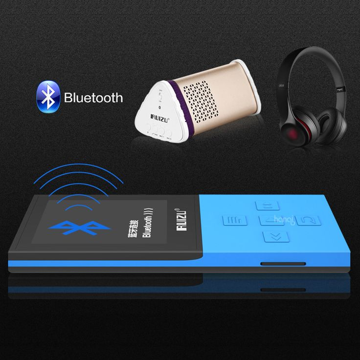 2017 Original RUIZU X18 8G Bluetooth Sport MP3 Player Lossless Recorder FM Radio Bluetooth 4 0. Click visit to buy