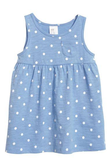 Pack de 2 vestidos de punto - Azul oscuro - NIÑOS   H&M ES