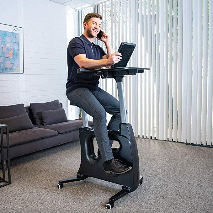 Flexispot Home Office Standing Desk Exercise Bike Home Office